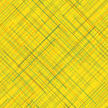 Abstract background diagonal random lines bright colors seamless pattern yellow plaid fabric texture vivid checkered endless Stock Photo