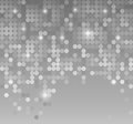 Abstract background with dots in gray color Stock Photos