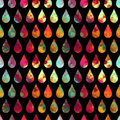 Abstract background drops of water seamless pattern Stock Photo