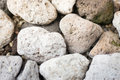 Abstract Background With Dry Pebble Stones