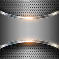 Abstract background elegant metallic vector Royalty Free Stock Photo
