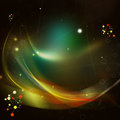 Abstract background with energy waves Royalty Free Stock Photo