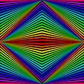Abstract background in the form of colored rhombuses and rays arranged diagonally.