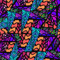 Abstract background of geometric patterns Royalty Free Stock Photo
