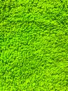 Abstract background of green terry cloth close-up Royalty Free Stock Photo