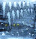 Abstract background. Grunge surface pattern design. Watercolor washes texture.