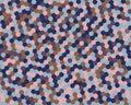 Abstract background hexagon. Vector illustration.