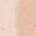 Abstract background of interwoven strands on the cardboard vector illustration Royalty Free Stock Image