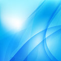 Abstract background light blue curve and wave element 003 Royalty Free Stock Photo