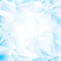 Abstract background light blue glass or ice Stock Photography