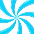 Abstract background made of glossy twirls swirl blue Royalty Free Stock Photography
