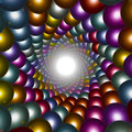 Abstract Background Made Of Sp...