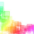 Abstract background with magic squares colorful Stock Images