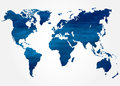 Abstract background with map of the world Royalty Free Stock Photo