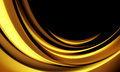 Abstract background modern design with gold color waves Royalty Free Stock Images