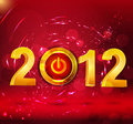 Abstract  background New Year, with a button Royalty Free Stock Images