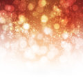 Abstract background orange shine with bokeh Royalty Free Stock Photos