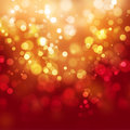 Abstract background orange shine with bokeh Stock Images