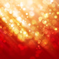 Abstract background orange shine with bokeh Stock Photo