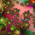 Abstract Background pattern in Christmas Holiday Colors Stock Images