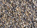 Abstract background with pebbles - round sea stones Royalty Free Stock Photo