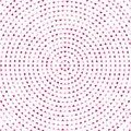Abstract background with pink hearts. Vector illustration