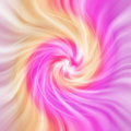 Abstract background pink and yellow twist Stock Image