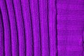 Abstract background purple texture made by embroidered wool Royalty Free Stock Images