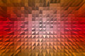 Abstract background with pyramid extrude d Stock Photo