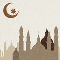Abstract background for ramadan kareem illustration Royalty Free Stock Photo
