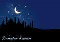 Abstract background for ramadan kareem illustration Royalty Free Stock Image