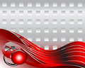 Abstract background, red Stock Photos