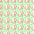 Abstract background of red and green zodiacs