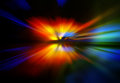 Abstract background in red yellow green and blue colors Stock Photos