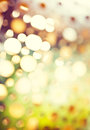 Abstract background of retro tinted lights with copy space defocus Royalty Free Stock Photography