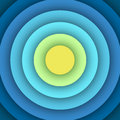 Abstract background with round layers. Royalty Free Stock Photo