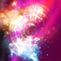 Abstract background shine with circles Stock Photography