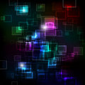 Abstract background with shiny squares Royalty Free Stock Photo