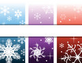 Abstract background with snow Stock Image