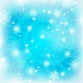 Abstract background with snowflakes Stock Photos