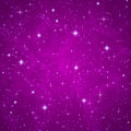 Abstract background sparkling twinkling stars dark violet petunia with cosmic atmosphere illustration universe vector Royalty Free Stock Photography