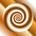 Abstract background with spirals Stock Photos
