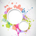 Abstract background with splashes illustration of an Royalty Free Stock Images