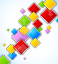 Abstract background with squares Stock Photo