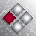 Abstract background with squares four for your business and design Stock Photo