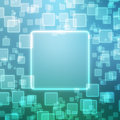 Abstract background with squares magic Royalty Free Stock Photography