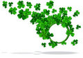 Abstract background of St Patrick Day Stock Photos