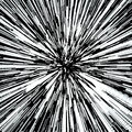 Abstract Background With Star Warp or Hyperspace. Abstract Exploding Effect. Hyperspace Travel. The Concept of Space