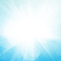 Abstract background with sun beam blue Stock Photos