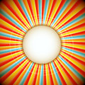 Abstract background of sunburst - raster version Stock Photo